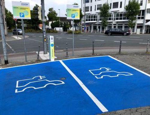 Bensheim: Ladestationen für E-Autos jetzt deutlicher hervorgehoben