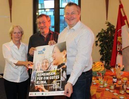 Bensheim: Faires Frühstück im Rathaus