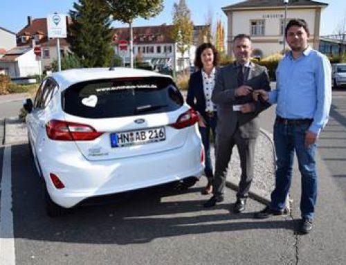 CarSharing: ab sofort auch in Sinsheim möglich
