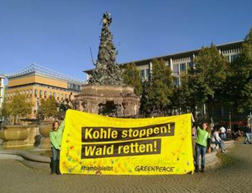 Hambacher Wald: Umweltschützer informierten in Mannheim über Großdemo am 6. Oktober