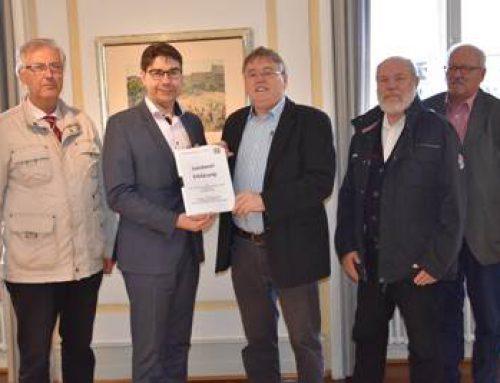 """Landau: Initiative Südpfalz-Energie überreichte """"Landauer Erklärung"""""""