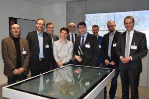 Landauer Stadtspitze besucht PTV-Group