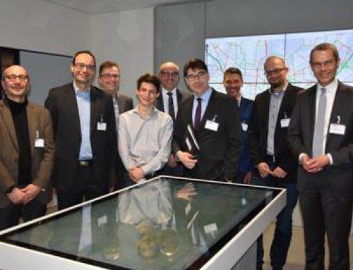 Landau: Stadtspitze informierte sich über intelligentes Verkehrsmanagementsystem