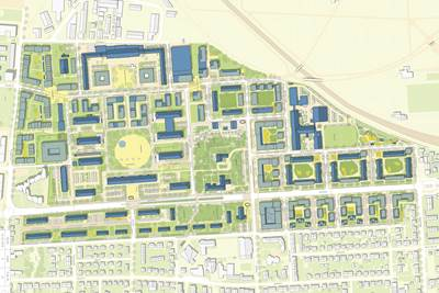 Gesamtplan Heidelberg Südstadt