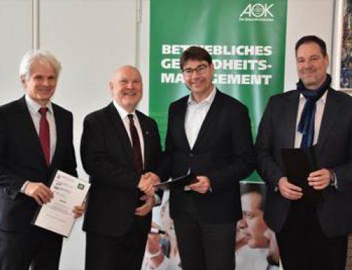 Stadt Landau: Kooperationsvereinbarung zum Betrieblichen Gesundheitsmanagement