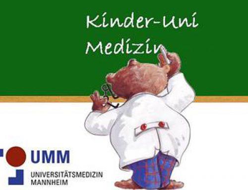 Mannheim: Kinder-Uni Medizin zu Gefahren des Rauchens und den Gleichgewichtssinn