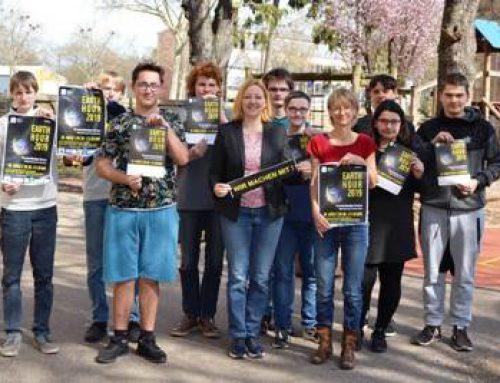 """Landau: Klimabotschafter der Nordringschule rufen zur Teilnahme an """"Earth Hour"""" auf"""