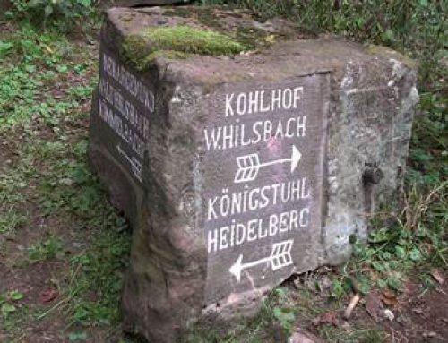Heidelberg: Einfacher wandern nach den Wegweisersteinen
