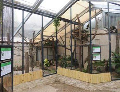 Landau: Wiedereröffnete Volierenanlage im Zoo