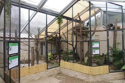 Ostafrikavolieren Zoo Landau