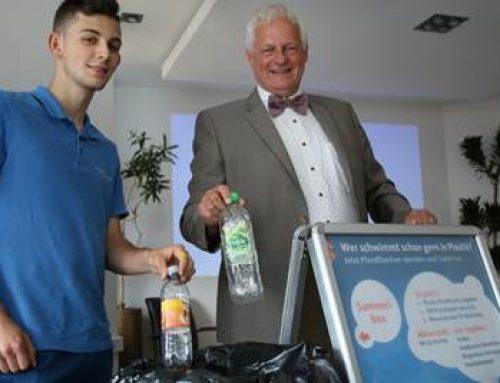 Weinheim: 10.000 Plastikflaschen gesucht