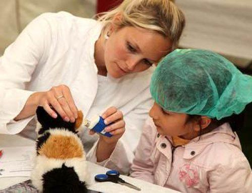 Mannheim: Teddybär-Krankenhaus im Unteren Luisenpark