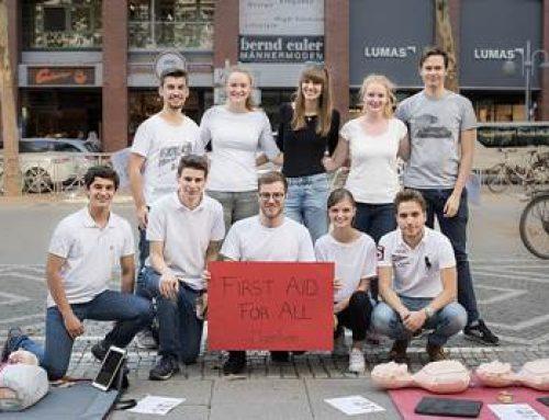 """Mannheim: """"First Aid For All"""" – Im Ernstfall eines Herzstillstands Leben retten!"""