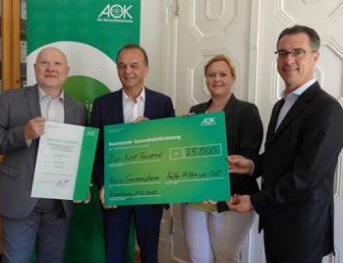 """Landkreis Germersheim: AOK unterstützt Präventionsprojekt """"Frühe Hilfen"""""""