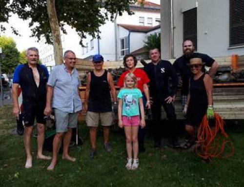 Sinsheim: Unterwasserfreunde holten wieder hunderte Kilo Müll aus der Elsenz