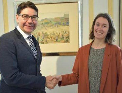 Eine Klimaschutzmanagerin für Landau: Maren Dern tritt Dienst bei der Stadt an