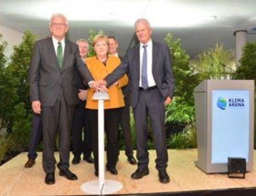 Sinsheim: Klima Arena feierlich eingeweiht
