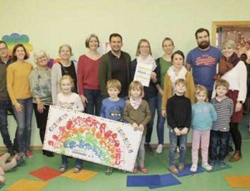 """Bad Dürkheim: Kita Regenbogen erste """"FaireKita"""" in Rheinland-Pfalz"""