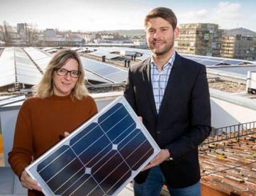 Sinsheim: Neues Photovoltaikprojekt der AVR Energie