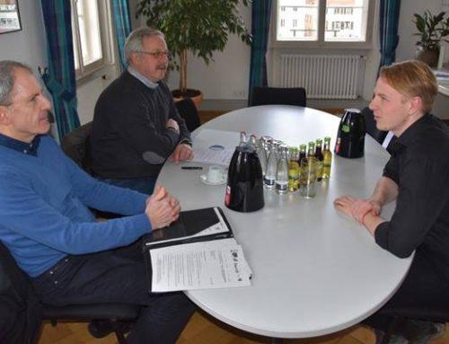 ÖPNV-Ausbau in Landau: Mobilitätsdezernent Hartmann tauscht sich mit Fahrgastverband aus