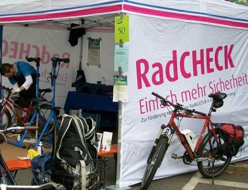 Mannheim: RadCHECK am Neckartalradweg
