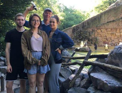 Im Zoo Landau wird an Methoden zur Vermeidung von Beifang geforscht