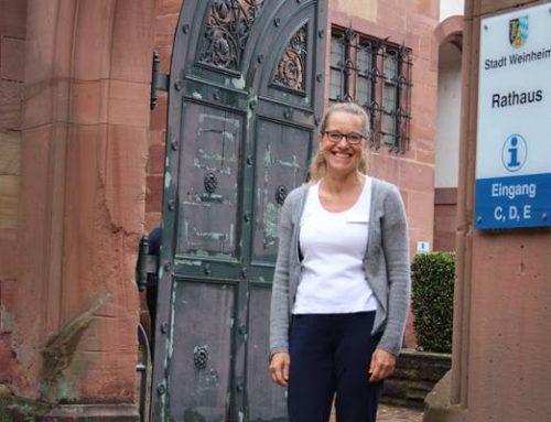 Weinheim: Ute Timmermann ist erste städtische Klimaschutzmanagerin