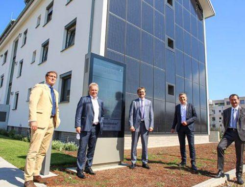 Mannheim: Minister Untersteller besuchte Modellprojekt SQUARE