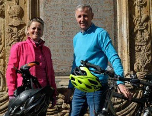 Mit dem Fahrrad auf den Spuren der Landauer Festung