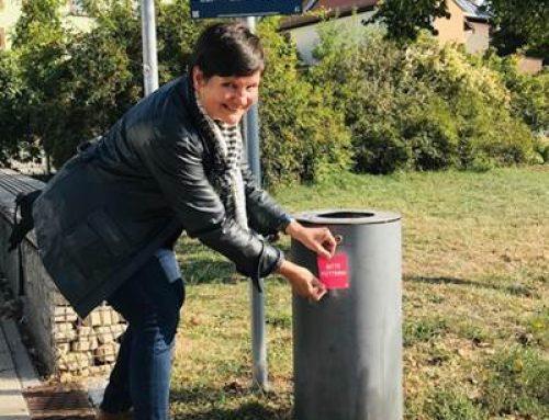 """Neustadt: Neue Beschilderung für """"Unsere saubere Stadt"""" vorgestellt"""