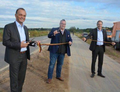 Radweg Zeiskam – Hochstadt offiziell eingeweiht