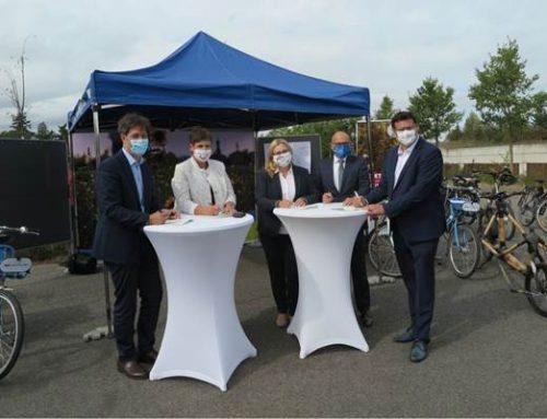 Radschnellweg Heidelberg – Schwetzingen: Planungsvereinbarung unterzeichnet