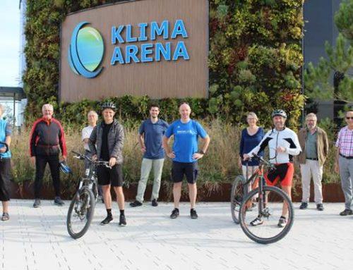 """Sinsheim: Auftakt """"Stadtradeln"""" – Kooperation mit der Klima Arena"""
