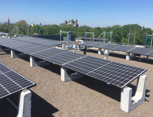 Stadtwerke Speyer: Solaranlage innovativ montiert