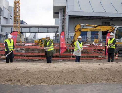 Mannheim: 1. Spatenstich für Phosphor-Recycling-Anlage