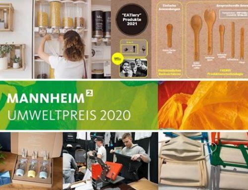 Mannheim: Preisverleihung Umweltpreis 2020