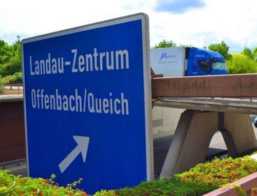 Fertigstellung des Umbaus der Anschlussstelle Landau-Zentrum West