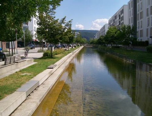 Heidelberg-Bahnstadt: Umbau des dritten Wasserbeckens geplant