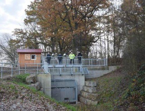 Sanierung des Hochwasserrückhaltebeckens in Hoffenheim