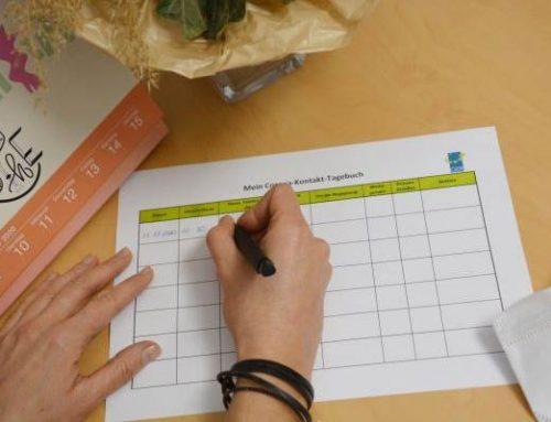 Corona: Gesundheitsamt rät zum Führen eines Kontakt-Tagebuchs