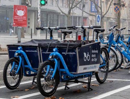 Neue E-Lastenräder in Mannheim