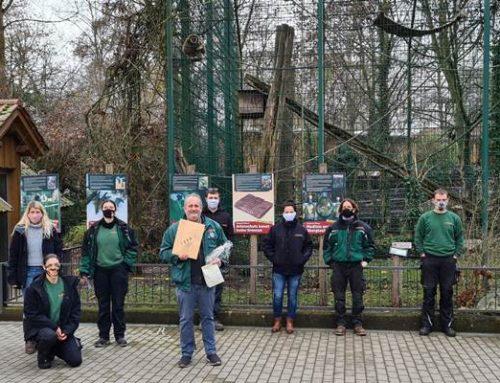 Landau: Zoobelegschaft spendet 1.000 Euro für Artenschutzprojekte des Zoos
