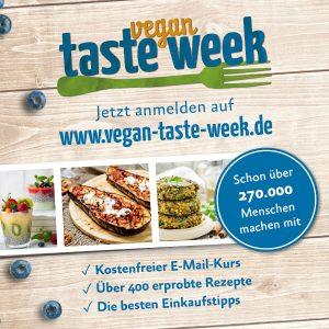Albert-Schweitzer-Stiftung: Vegan-Taste-Week