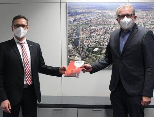 Mannheim: Neuer Bürgermeister Ralf Eisenhauer hat sein Amt angetreten
