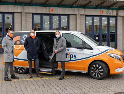 """Mannheim: On-Demand-Shuttle """"fips"""" nimmt Regelbetrieb auf"""