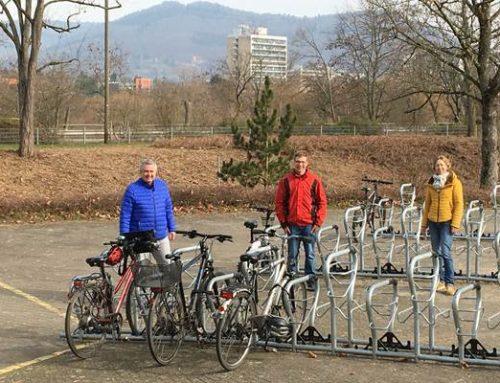 Heidelberg: Carl-Bosch-Schule hat 204 neue Fahrradständer