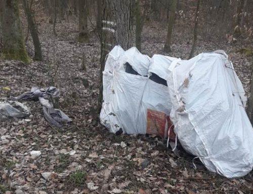 Illegale Müllentsorgung in Hilsbach