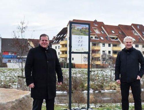 Hockenheim: Info-Tafeln informieren über HÖP