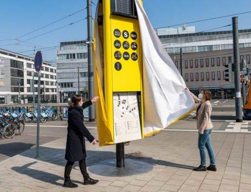 Mobilitätssäulen in Heidelberg machen die Verkehrswende sichtbar