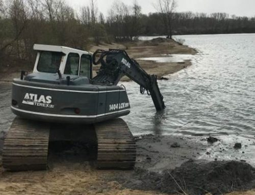 Speyer: Wasserrinne an den Binsfeld-Seen wurde vertieft